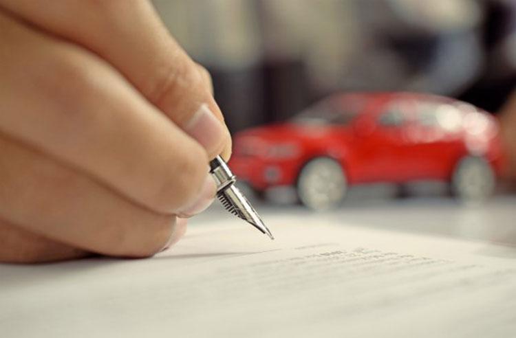 Mẫu hợp đồng mua bán xe ô tô, xe máy mới nhất